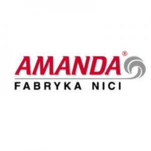 logotyp amanda fabryka nici